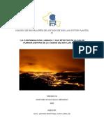 La Contaminacion Luminica y Sus Efectos en La Salud Humana Dentro de La Ciudad de San Luis Potosi (Version2)