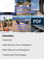 Lelis Fraga - Water Resource Law and Policy,