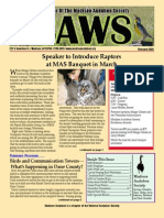 Feb 2008 CAWS Newsletter Madison Audubon Society