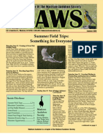 Jun-Jul-Aug 2008 CAWS Newsletter Madison Audubon Society