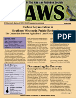 Oct 2008 CAWS Newsletter Madison Audubon Society