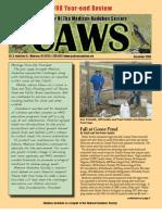 Dec 2008 CAWS Newsletter Madison Audubon Society