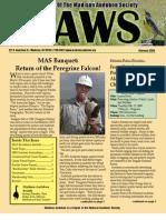 Feb 2009 CAWS Newsletter Madison Audubon Society