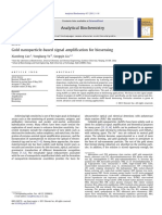 2011-Gold Nanoparticle-based Signal Amplification for Biosensing