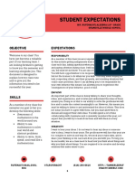 students expectations pdf