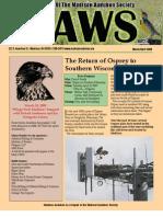 Apr 2009 CAWS Newsletter Madison Audubon Society