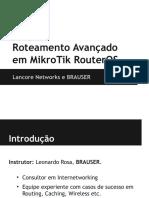 Roteamento Avancado em MikroTik + Introducao.pdf