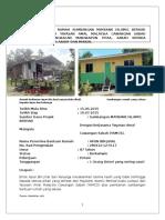 Dokumentasi Projek Bantuan Perumahan Kg.Pengkalan Mangkapon, Pitas, Sabah Oleh YAYASAN AMAL MALAYSIA CAWANGAN SABAH.