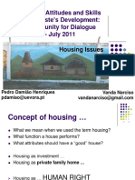Pedro Hinriques and Vanda Narciso - Housing Issues in Timor-Leste