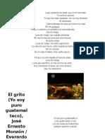 10 Canciones de Guate