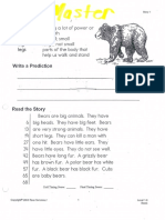 Fluency mini lesson