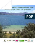Informe Cuenta Del Agua Lago Tota