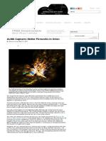 ALMA Captures Stellar Fireworks in Orion - Sky & Telescope