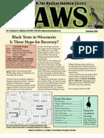 Sep 2009 CAWS Newsletter Madison Audubon Society