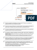 Combustibles. Exercicis