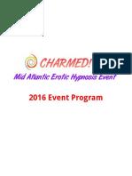 Charmed 2016 Program