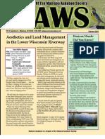 Feb 2010 CAWS Newsletter Madison Audubon Society