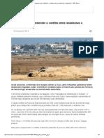 10 Perguntas Para Entender o Conflito Entre Israelenses e Palestinos - BBC Brasil