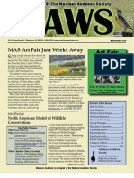 Apr 2010 CAWS Newsletter Madison Audubon Society