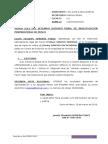 Apersonamiento Penal de Janeth Elizabeth Herrera Ponce