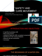 portfolio leadership patient safety movement
