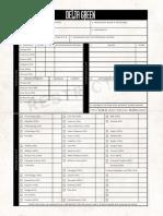 Delta Green Briefing Documents
