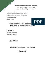 Transmission de HF