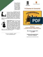 Brochure Cinestsia