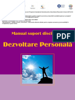 Manual Dezvoltare Personala