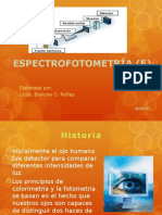 Espectrofotometria (e)