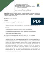 Didatica Das Ciencias Alexandre