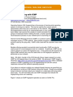 Os Fingerprinting With Icmp