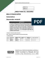 Manual Msa Dynescape en Español