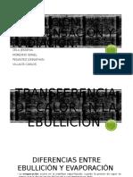 Ebullicion,Condensaciòn Grupo 1