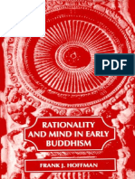 Rationality and the Mind in Early Buddhism_Hoffman_1987