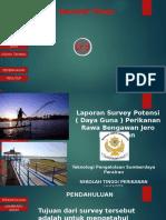 Laporan Survey Potensi Perikanan Rawa Bengawan Jero, Lamongan