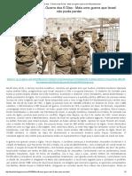 Há 49 anos - A Guerra dos 6 Dias - Mais uma guerra que Israel não podia perder.pdf