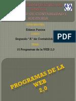 10 Programas de La Web 2.0
