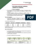 Normativa Nivelacion Uce 2s 2016