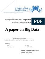Big Data by Tsegaye
