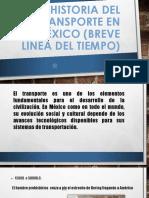 Linea Del Tiempo de Mexico