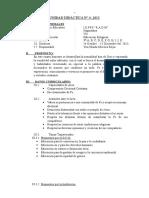 Cuarta Unidad de 3 -2013