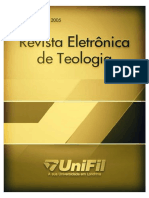 Revista Eletrônica de Teologia edição-2005
