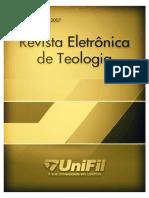 Revista Eletronica de Teologia edicao-2007