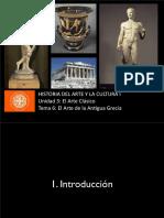 U3 T6 - Arte de La Antigua Grecia