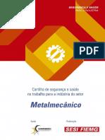 Cartilha Sst Metalmecânico