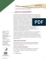 Osteoartritis Ff Espanol