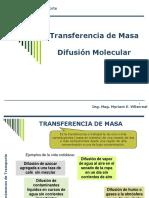Transferencia de Masa- Difusion Molecular-Parte I