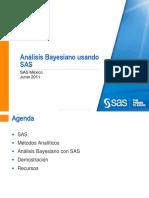 SAS Mexico - Análisis Bayesiano Usando SAS (2010)