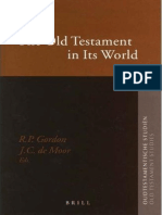 [OS 052] Gordon, De Moor [Eds.] - The Old Testament In Its World_ Papers Read At The Winter Meeting January 2003.pdf